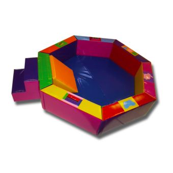 Steps/Slide Activity 7 Sided Ball Pit