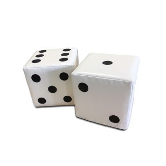 Soft Play Set of Dice ( 2 off )