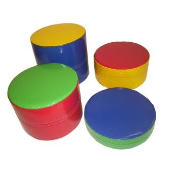 Soft Play Stepping Stones (plain)