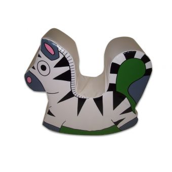 Soft Play Rocking Zebra