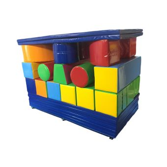Soft Play Build Box Set (on trolley & cover)