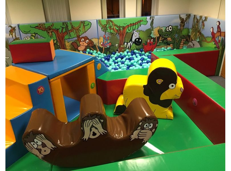 Play school or nursery soft play areas softplay solutions for Jungle themed playroom