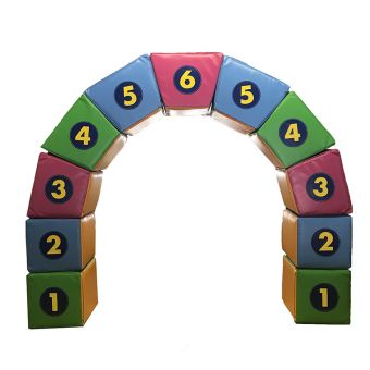 Soft Play Keystone/ Norman Arch Puzzle