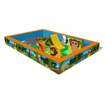Jungle Time Play Pit (6m x 4m)