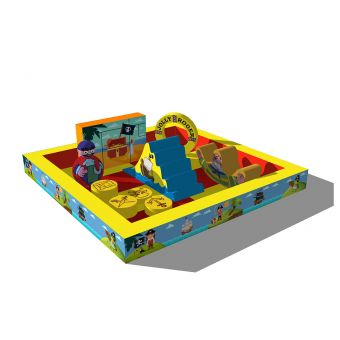 The treasure island play pit (4m x 4m)