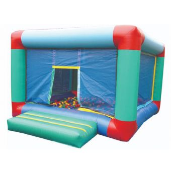 Infl.Cubic B/Pond with bouncy bed