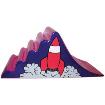 Soft Play Rocket Steps & Slide