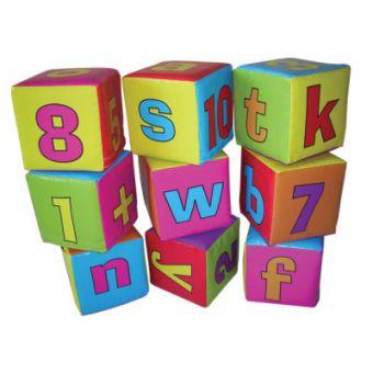 Soft Play ABC Blocks (9 pieces)