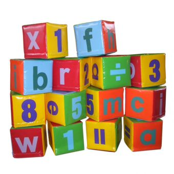 Soft Play ABC Blocks (14 pieces)