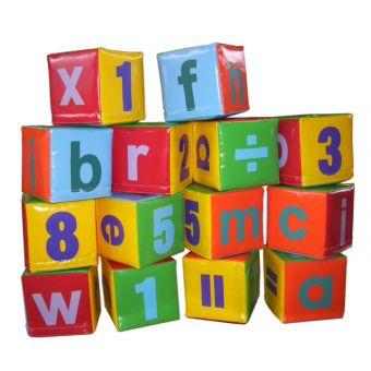 Soft Play ABC Blocks (14 pieces)