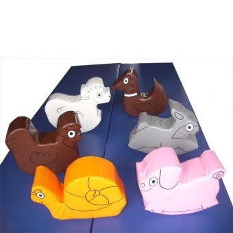 Soft Play Set of 6 Farm Animals