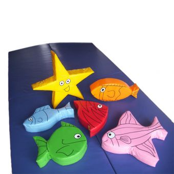 Soft Play Set of 6 Fish
