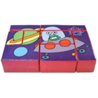 Soft Play Space Puzzle Block