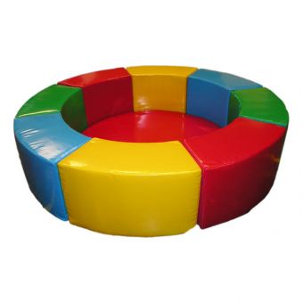 Soft Play 2m Multicolour Round Ball Pit