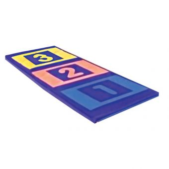 Soft Play Numbered Mat