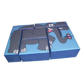 Soft Play Elephant Puzzle Block