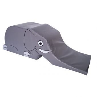 Soft Play Elephant Climb & Slide Medium