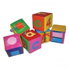 Soft Play Set of 6 Activity Cubes