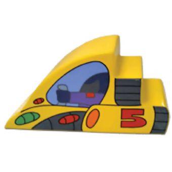 Soft Play Space Steps & Slide