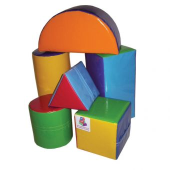 Soft Play Set of 6 Assorted Shapes