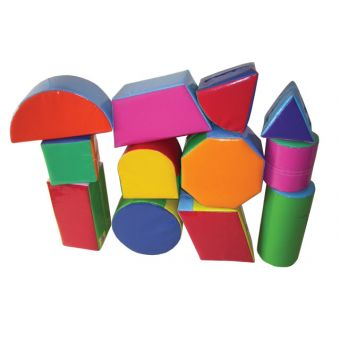 Soft Play Set of 12 Assorted Shapes