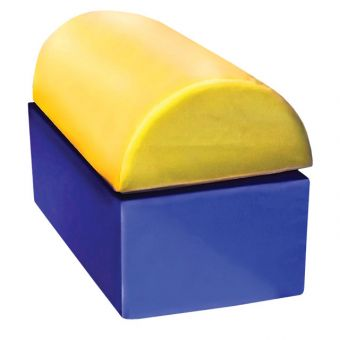 Soft Play Half Moon Block