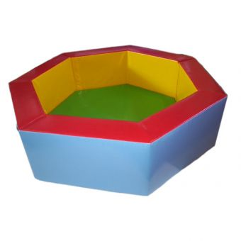 Soft Play 7 Sided 1.75m Ball Pond (Balls Inc)