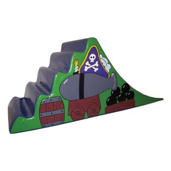 Soft Play Pirate Steps & Slide