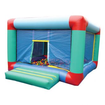 Infl.Cubic Ball Pit with bouncy bed
