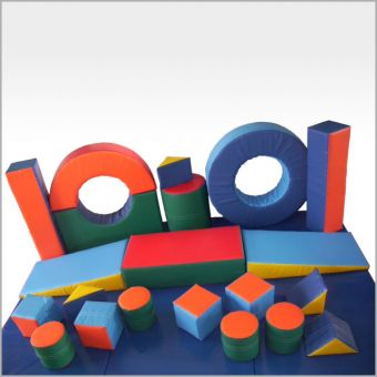Soft Play 25 Piece Box Set(includes 4 mats)