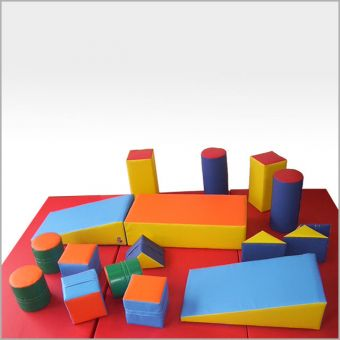 Soft Play 17 Piece Set in Storage Bag