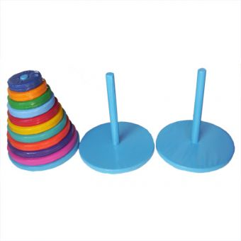 Soft Play Tower of Hanoi Puzzle