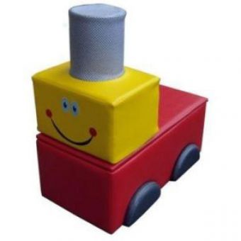 Soft Play Train Seat