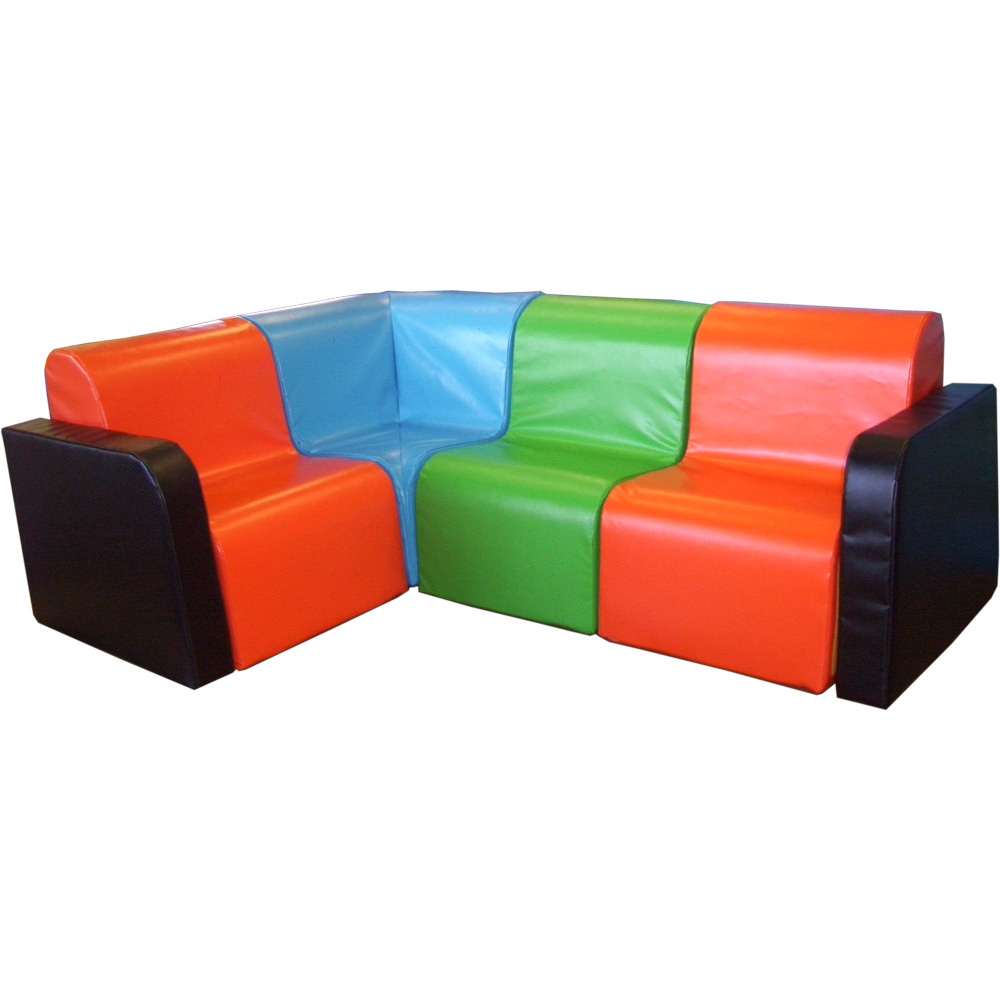 Soft Play Kids Modular Chair With Arm
