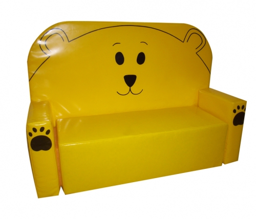 Soft Play Teddy Seat Double