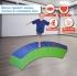 Soft Play Curved Balance Beam