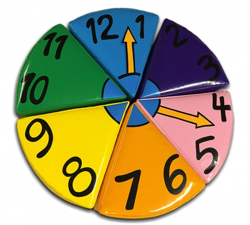 Soft Play Clock Puzzle