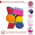 Soft Play Set of 6 Shapes (set 2)