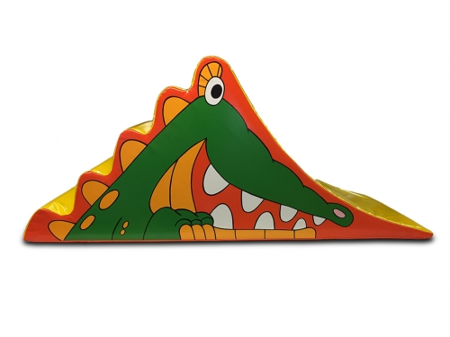 Soft Play Crocodile Slide
