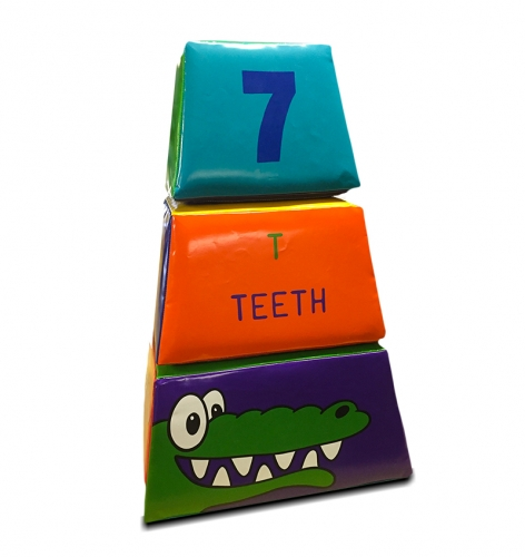 Soft Play Jungle Pyramid Blocks