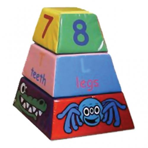Soft Play Jungle Pyramid Blocks