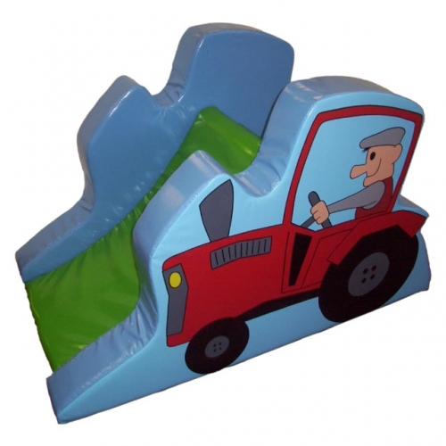 Soft Play Tractor Climb & Slide