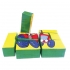 Soft Play Tractor Puzzle Block