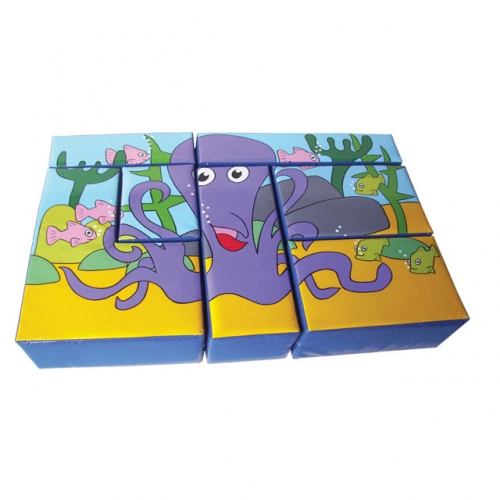 Soft Play Octopus Puzzle Block