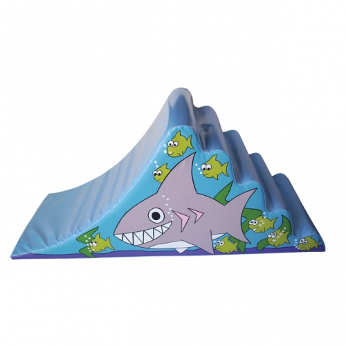 Soft Play Shark Ocean Steps & Slide