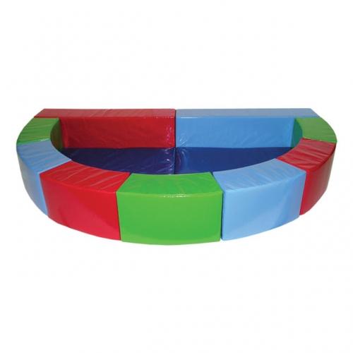 Soft Play Semi-Circular Ball Pond