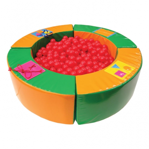 Soft Play 1.5m Round Activity Ball Pond
