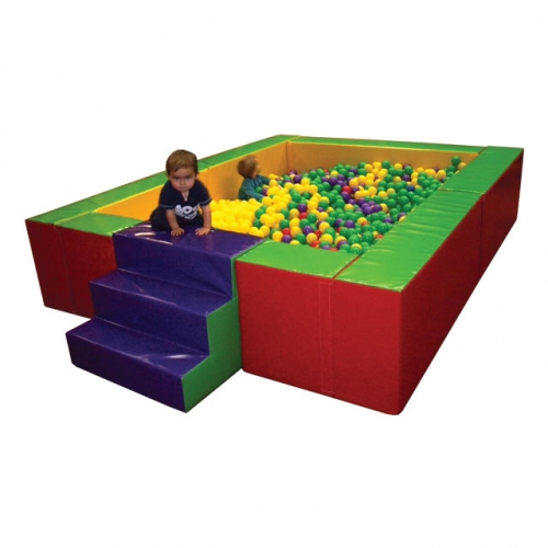Soft Play Giant Steps & Slide Ball Pond