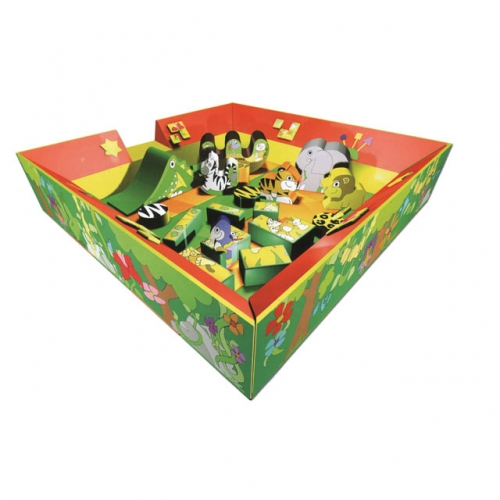 5m x 5m Jungle Soft Play Area