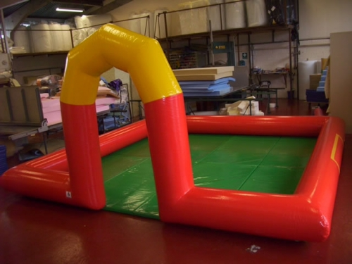5m x 5m Inflatable surround with mats and fan